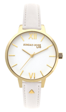 SUNDAY ROSE FASHION WHITE ELEGANCE SUN-F03W