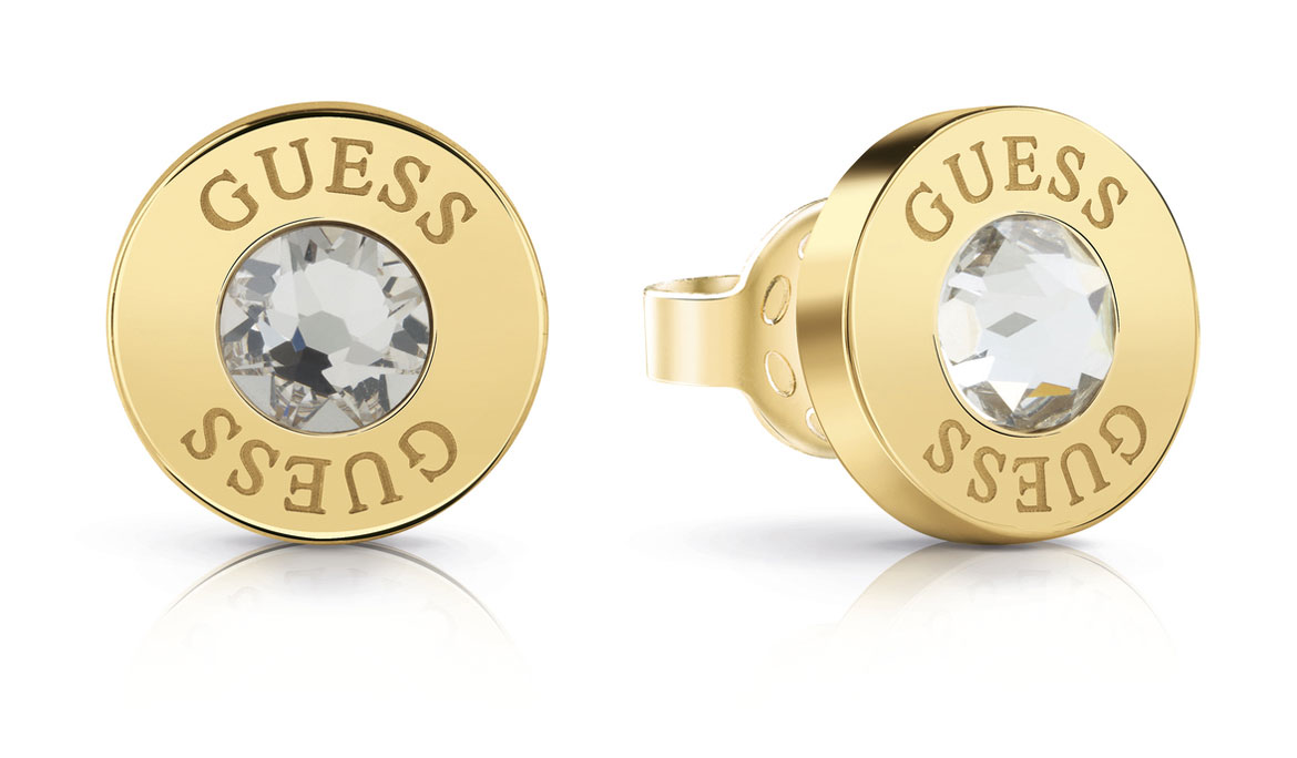 GUESS SHINY CRYSTALS EARRINGS UBE78095
